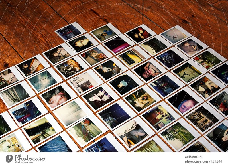 Polaroid Culture Jail sentence Photography Multiple Art Image Things Row Many Collection Column Gallery Review Photographic technology Maximum