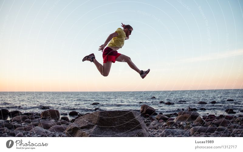 high jump Sports Fitness Sports Training Track and Field Sportsperson Sporting event Success Long jump High jump Jump Hop Jogging Human being Masculine