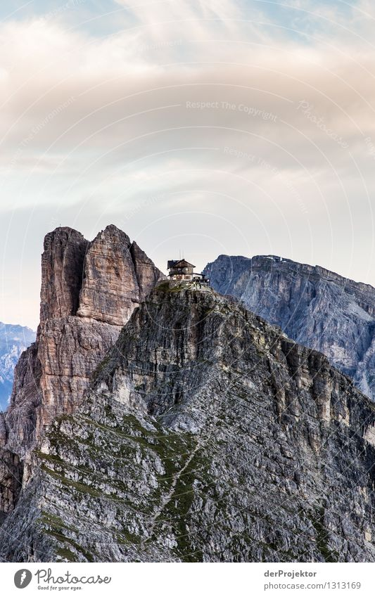 My home is my castle: Rifugio Nuvolau Vacation & Travel Tourism Trip Adventure Far-off places Freedom Mountain Hiking Environment Nature Landscape Plant
