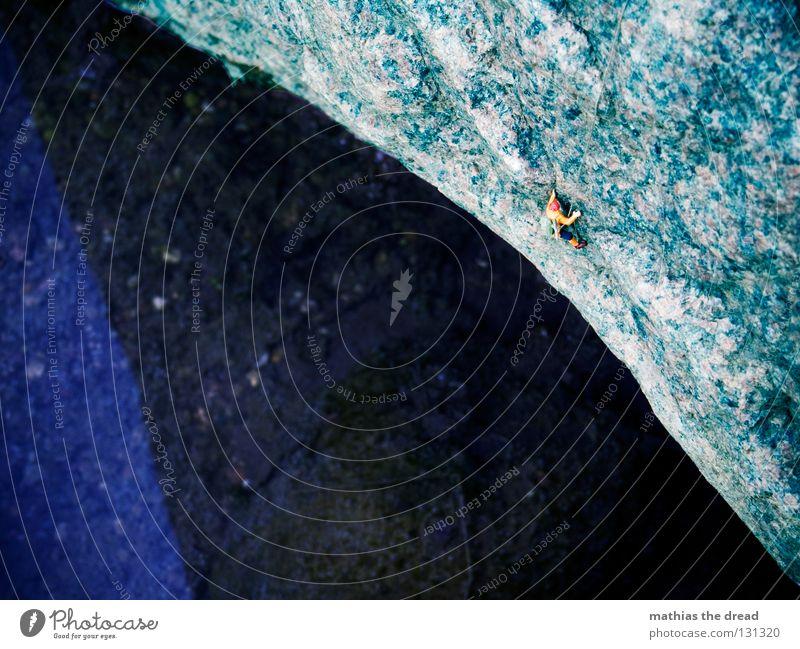 Man Nature Water Ocean Blue Loneliness Sports Dark Playing Mountain Stone Lake Wet Large Rope Rock