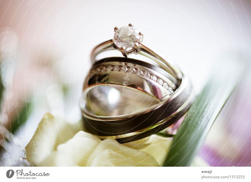 rings Feasts & Celebrations Wedding Jewellery Ring Wedding band engagement ring Esthetic Elegant Success Expensive Precious Colour photo Exterior shot