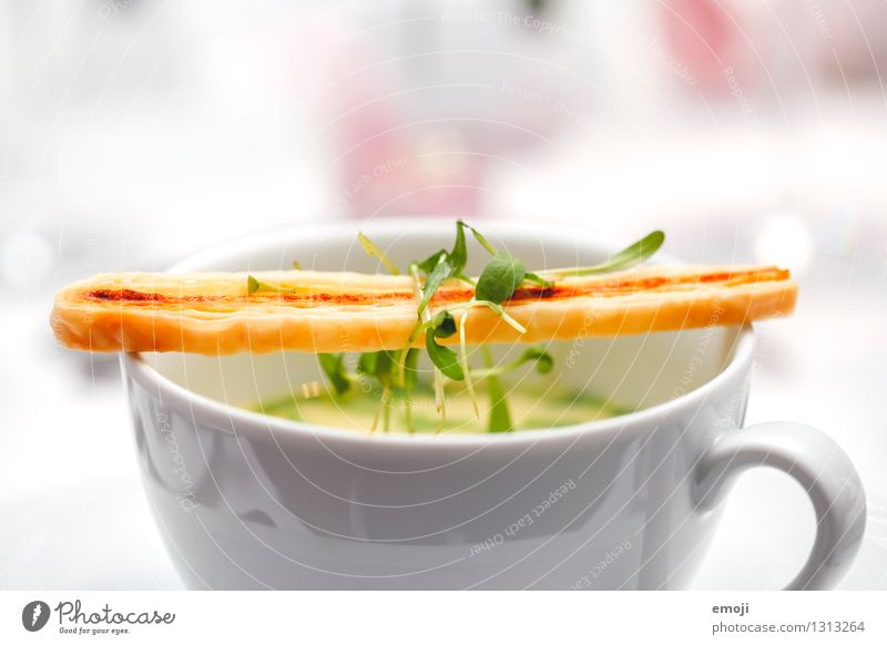 soup Soup Stew Nutrition Lunch Dinner Banquet Vegetarian diet Diet Fresh Healthy Delicious Colour photo Interior shot Close-up Detail Macro (Extreme close-up)