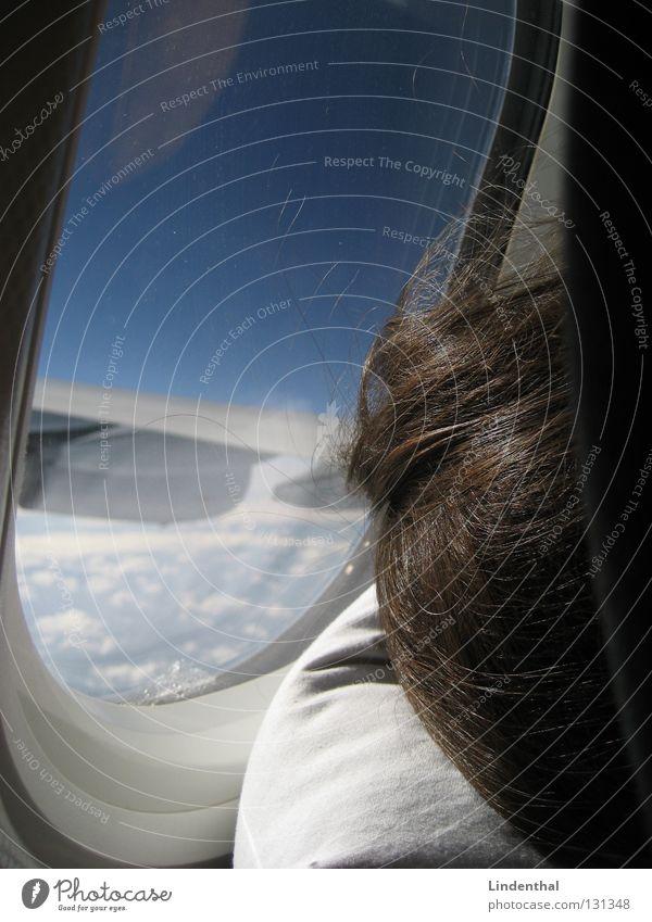 Window Airplane Sleep Aviation Wing Cushion Engines Hatch Porthole Pillow