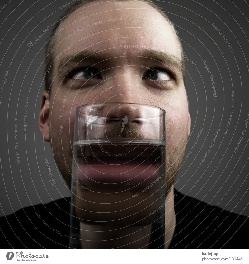 Human being Man Water Face Mouth Nose Lifestyle Beverage Drinking Lips Facial hair Alcoholic drinks Comic Joke Muzzle Reaction