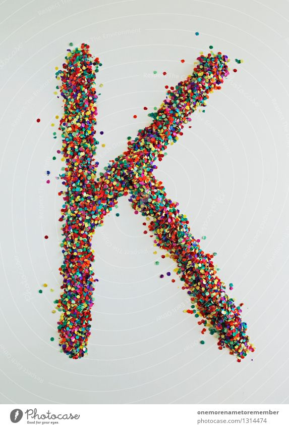 Art Design Esthetic Letters (alphabet) Point Many Typography Confetti Fashioned Design studio Design museum
