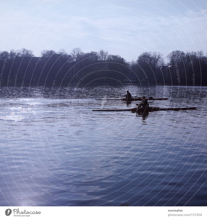 Man Water Sports Playing Emotions Coast Watercraft Glittering Elegant Walking Beginning Speed Island Success Point Target