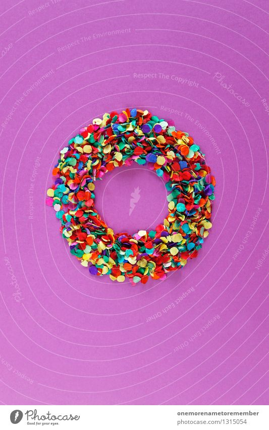 So to get there... Art Work of art Esthetic Donut Circle Creativity Design Confetti Sphere Design studio Fashioned Wheel Round Violet Home-made O Colour photo