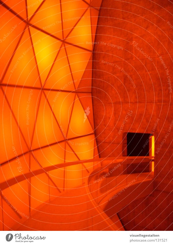 Room Orange Concrete Concentrate India House of worship