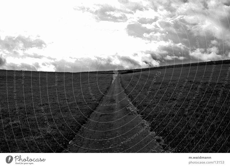 Clouds Street Meadow Mountain Lanes & trails Field Horizon