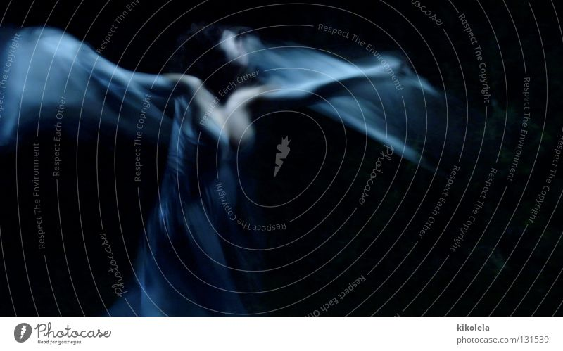 Windmaker #1 Fantasy literature Transience Beautiful woman female blue dance sensual Anguish