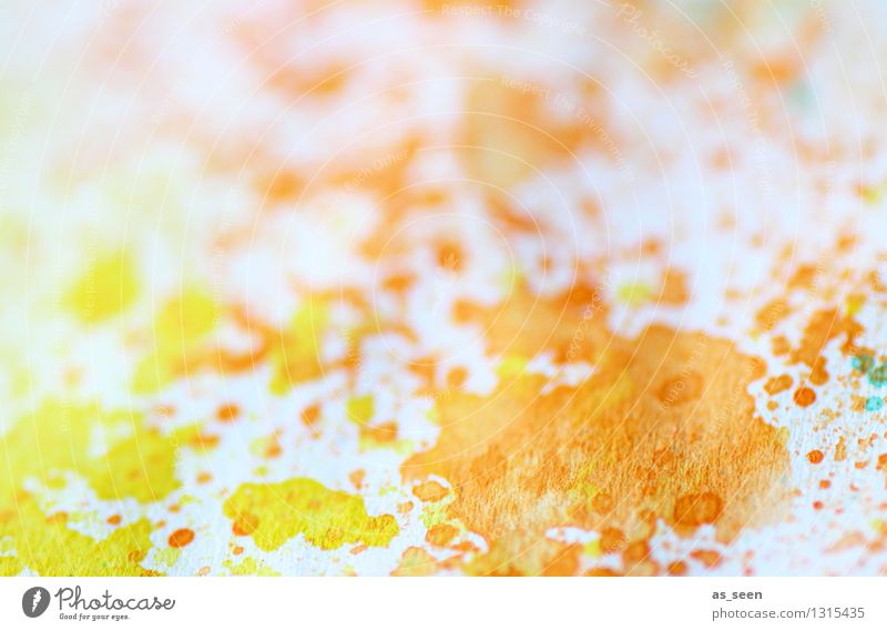 Colour Summer Yellow Life Art Bright Orange Leisure and hobbies Illuminate Happiness Esthetic Energy Joie de vivre (Vitality) Idea Paper Painting (action, artwork)