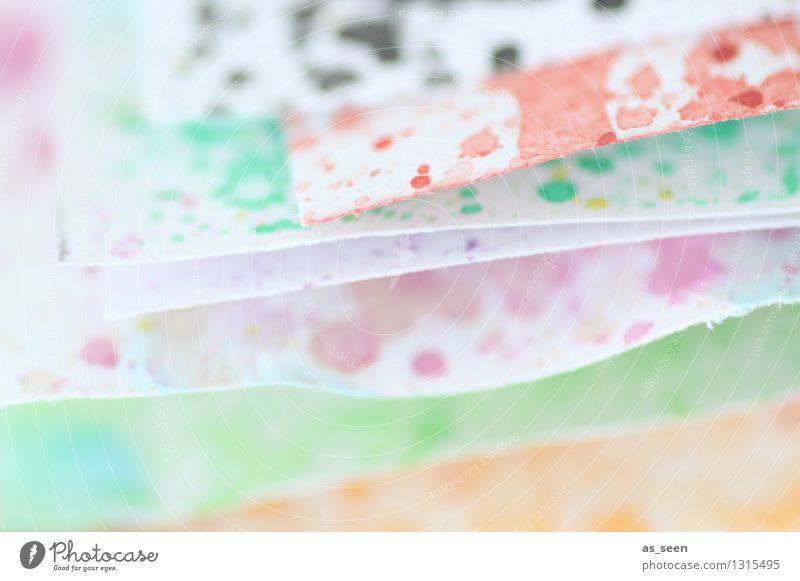 Colour Calm Movement Art Bright Lie Leisure and hobbies Illuminate Decoration Esthetic Creativity Paper Painting (action, artwork) Wellness Concentrate Hip & trendy