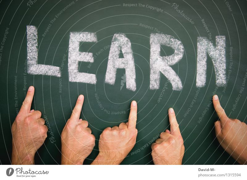 take lessons Education Adult Education School Study Blackboard Student Professional training Academic studies Career Success Human being Masculine Man Adults