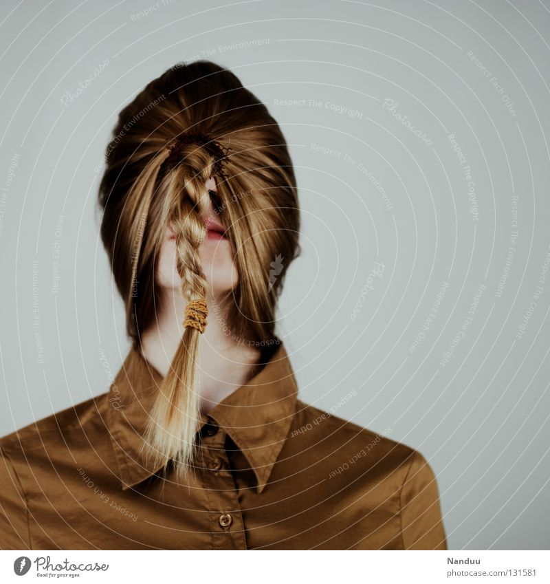 levelling Hair and hairstyles Calm Education Work and employment Human being Woman Adults Shirt Mask Braids Think Stand Sadness Exceptional Funny Grief Death