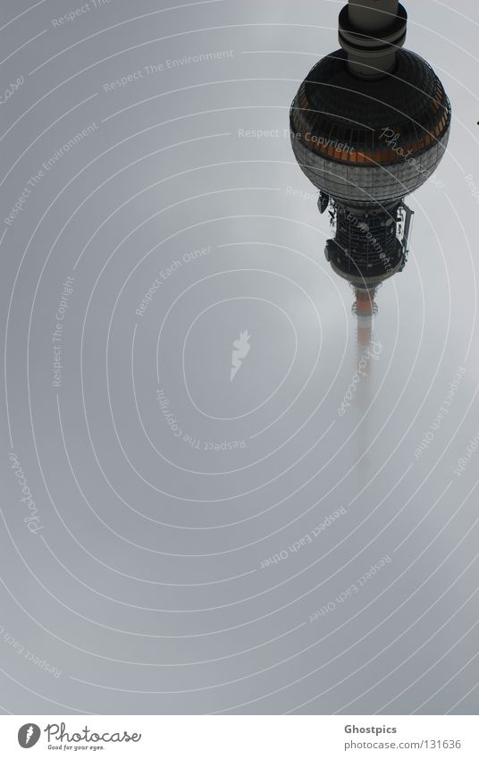 Clouds Berlin Style Fog High-rise Modern Future Tower Universe Berlin TV Tower Great UFO