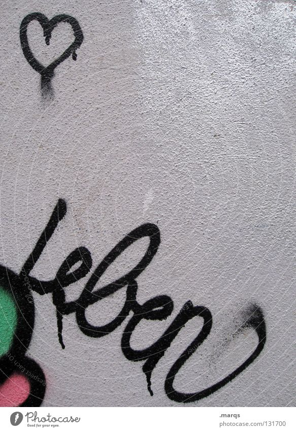 Green White Red Black Love Life Emotions Graffiti Happy Couple Art Together Pink Dirty Heart Characters