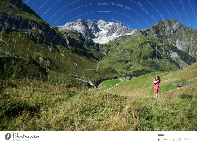 Anna watches TV 2 Vacation & Travel Summer Summer vacation Mountain Hiking Environment Nature Landscape Cloudless sky Climate Weather Beautiful weather Rock