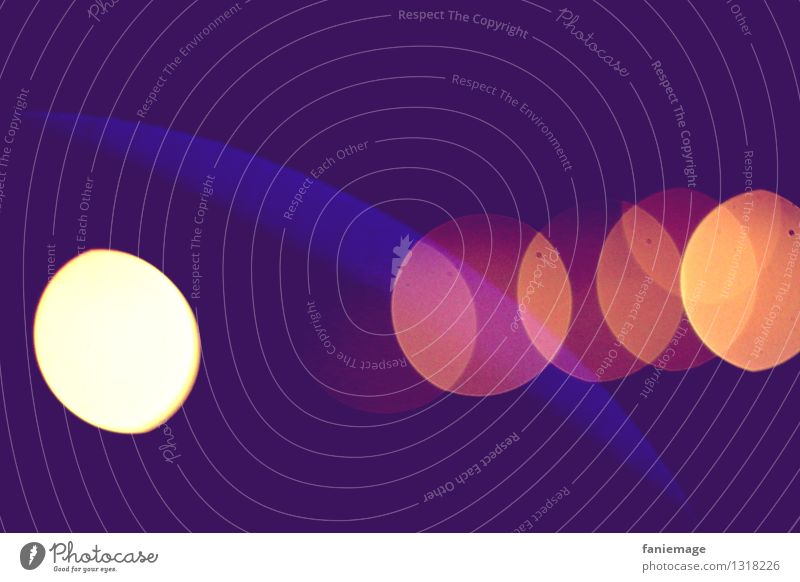 Blue Art Pink Orange Esthetic Fantastic Point Universe Violet Point of light Semicircle