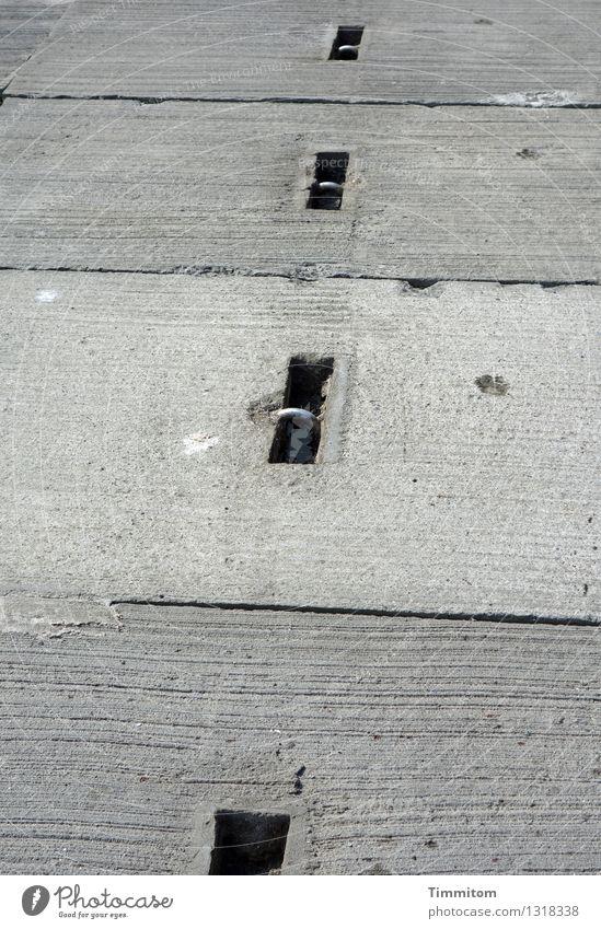Black Gray Line Metal Lie Esthetic Concrete Simple Ground Silver Denmark Mole Concrete block