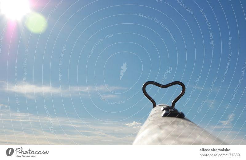 So close to heaven Seesaw Playground Crash Clouds Eros Joy Sun Sky Love Heart Infancy