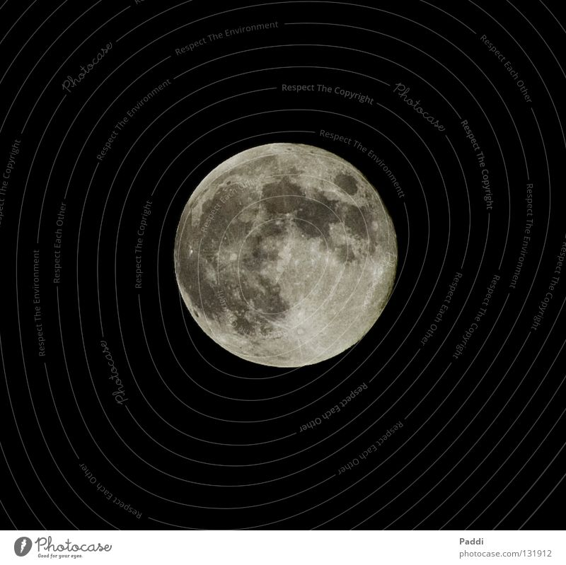 Where does the man live in the moon? Full  moon Night Black NASA Volcanic crater Dream Moonlight Celestial bodies and the universe Sky Long exposure