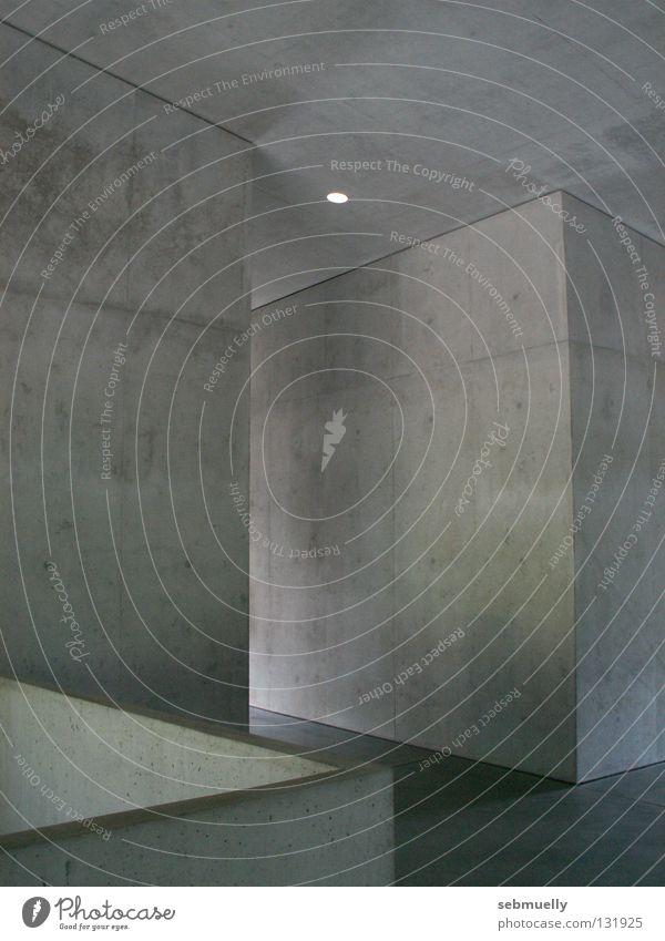 Space-concretization Concrete School building Canton Graubünden Room Architecture piping Valerio Olgiati