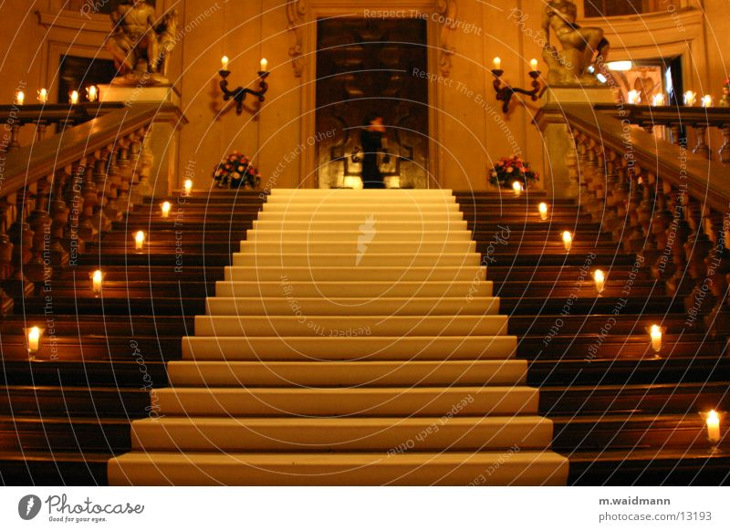 perfect coincidence Candle Stairs Feasts & Celebrations Luxury Light