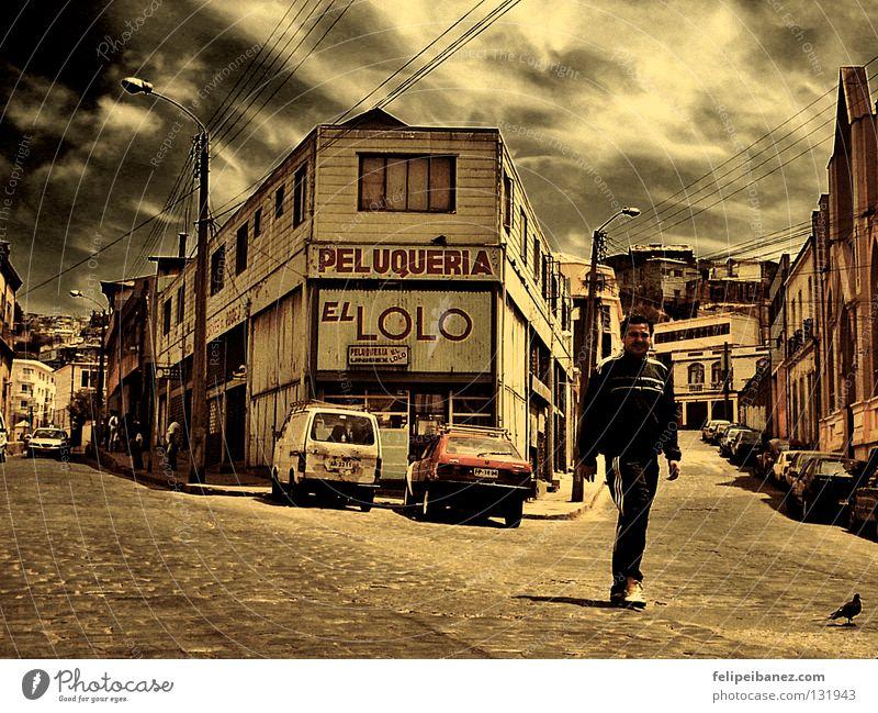 "Peluqueria ""El Lolo"" Valparaíso Chile Sky Colour South America peluqueria vacaciones dramatic color"