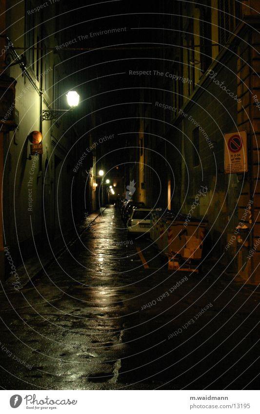 Street Rain Transport Italy Tuscany Florence
