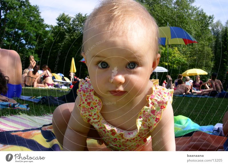 Sun Summer Baby Cute Swimming pool Child