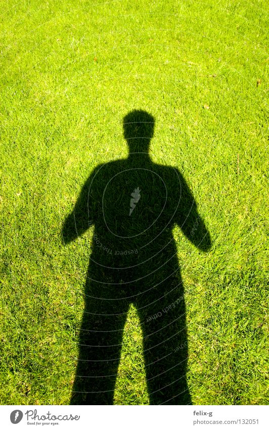 Lawn man #2 Grass Hand Drop shadow Light Green Bright green Shadow Human being Legs Sun Contrast