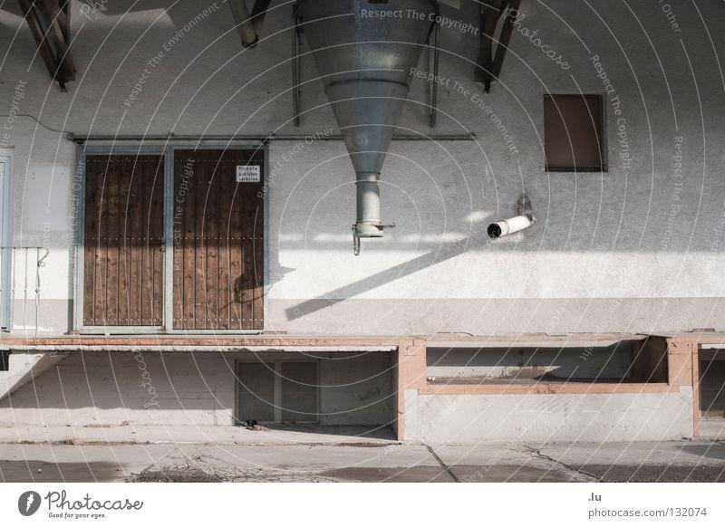 silo Agriculture Silo Gloomy Farm Empty Transience stylized Gate loading stadium Loneliness