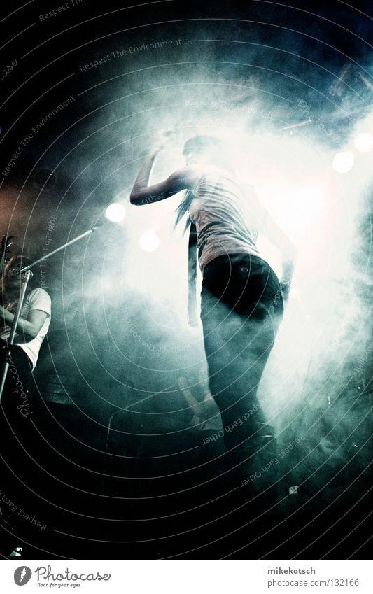 Joy Music Fog Concert String Rock music Stage Punk Light Live Singer Rostock