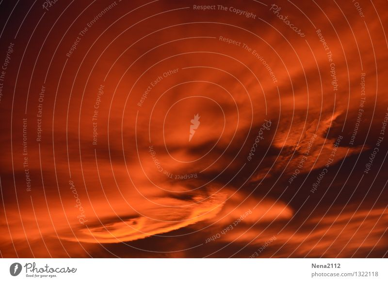 Sky Nature Red Landscape Clouds Dark Environment Orange Wild Weather Air Fear Wind Esthetic Dangerous Fantastic