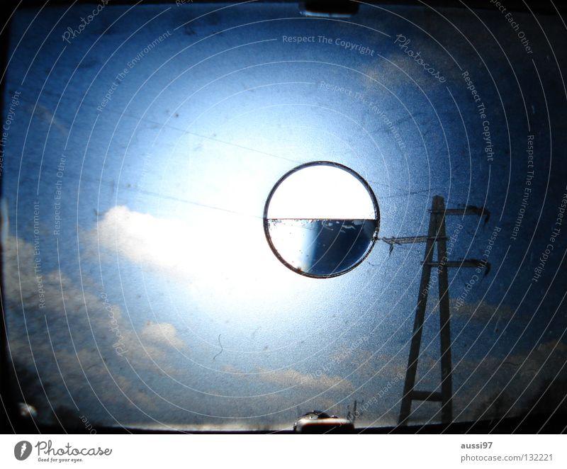analog view Dark Concerning Rain Planet UFO Blur Hazy Grid Pattern Analog Viewfinder Macro (Extreme close-up) Close-up Lomography Thunder and lightning Bluish