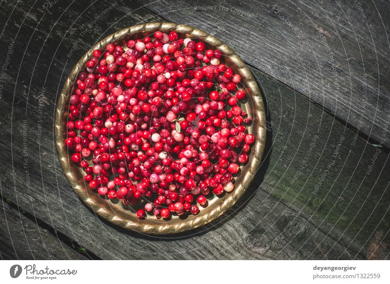 Cranberries in a bowl Fruit Eating Diet Bowl Table Kitchen Nature Autumn Fresh Bright Natural Juicy Red Berries Organic Raw Ingredients Seasons Close-up