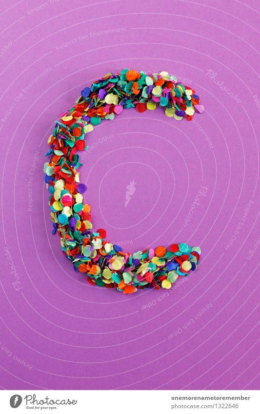 C Art Work of art Esthetic Letters (alphabet) Typography Alphabetical Violet Mosaic Idea Creativity Fashioned Design Confetti Colour photo Multicoloured