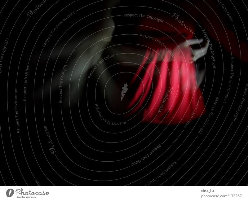 dancing in the dark VI Red Dark Hand Woman 3 Movement Swing Posture Shoulder Esthetic Vertical Beautiful Feminine Light Elegant Mysterious Long exposure Dance