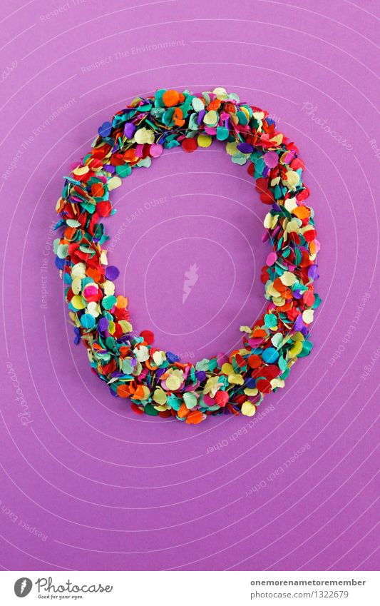 O Art Work of art Esthetic Letters (alphabet) Typography Alphabetical Many Mosaic Violet Multicoloured Design Creativity Idea Easter Easter egg nest Confetti