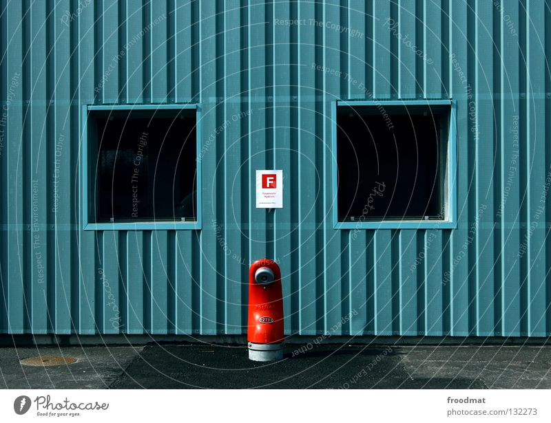 o i o Minimal Fire hydrant Central Graphic Red Style Switzerland Erase Water for firefighting Provision Window Wall (building) Stripe Striped Connection Detail