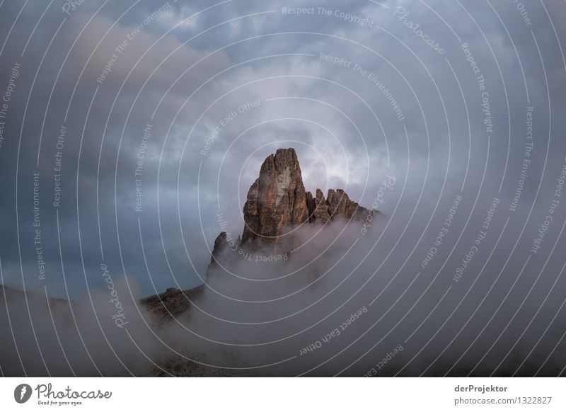Cloud play at Croda da Logo II Vacation & Travel Tourism Trip Adventure Far-off places Freedom Expedition Camping Summer vacation Mountain Environment Nature