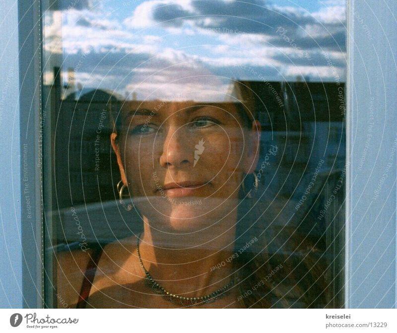 Human being Sky Window Dream Think