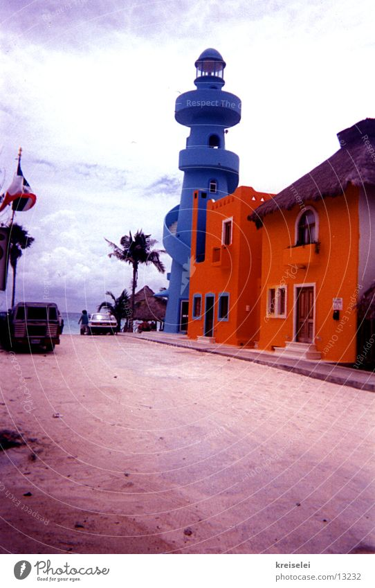 Sky Vacation & Travel Building Orange Munich Lighthouse Mexico Bavaria
