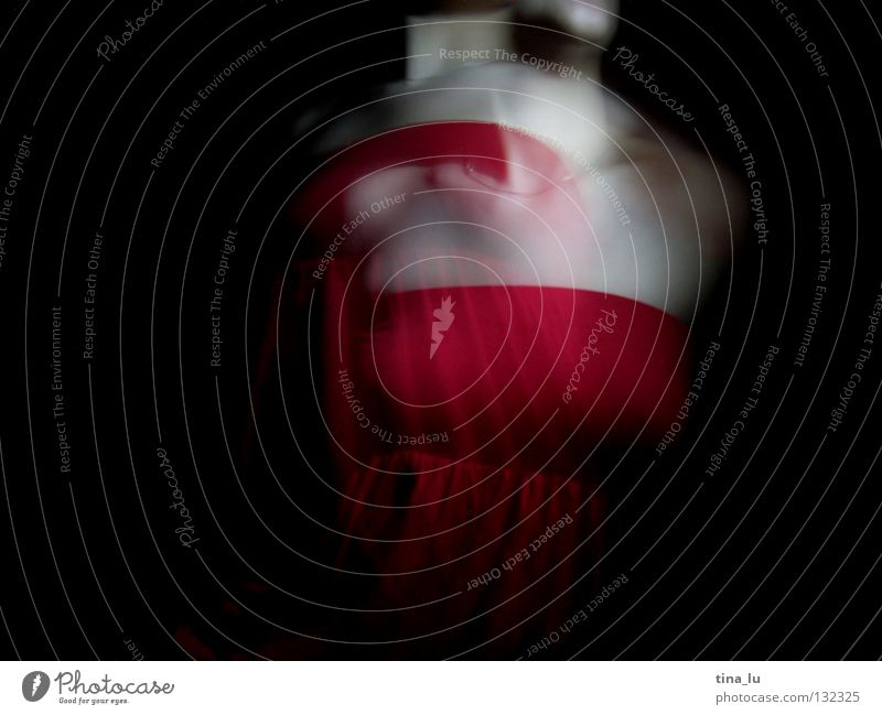 dancing in the dark VII Red Dark Hand Woman 3 Movement Swing Posture Shoulder Esthetic Vertical Beautiful Feminine Light Elegant Mysterious Dance Long exposure