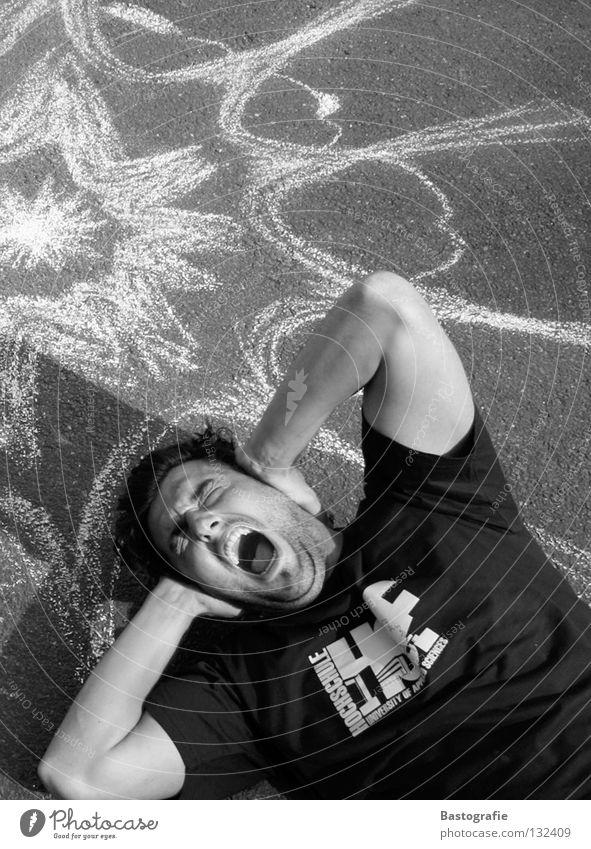 Fear Scream Pain Panic Street art Volume Bang