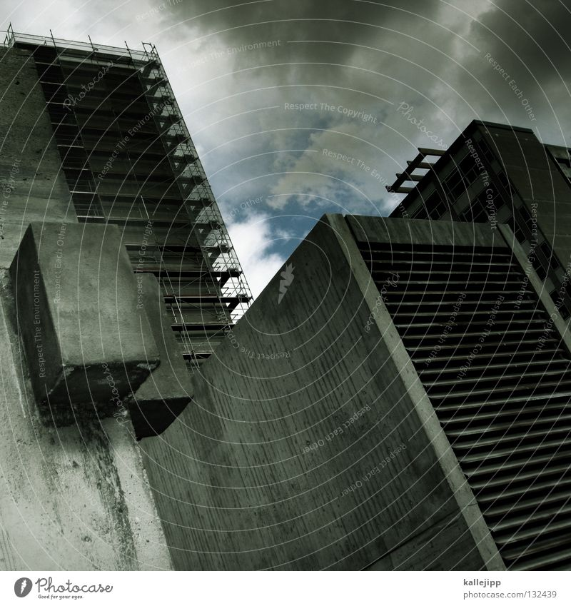 House (Residential Structure) Window Dream Building Architecture Flat (apartment) Concrete High-rise Academic studies Level Construction site Desire Catch