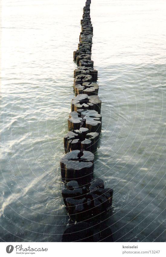 endless Wood Wooden board Ocean Infinity Calm Water Baltic Sea