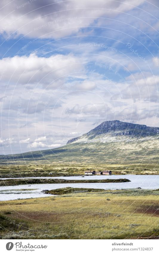 Rondane National Park Vacation & Travel Trip Adventure Far-off places Freedom Expedition Environment Nature Landscape Sky Clouds Horizon Beautiful weather
