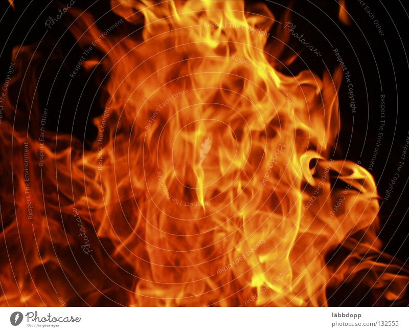 Bright Blaze Fire Hot Burn Flame Nocturnal fire
