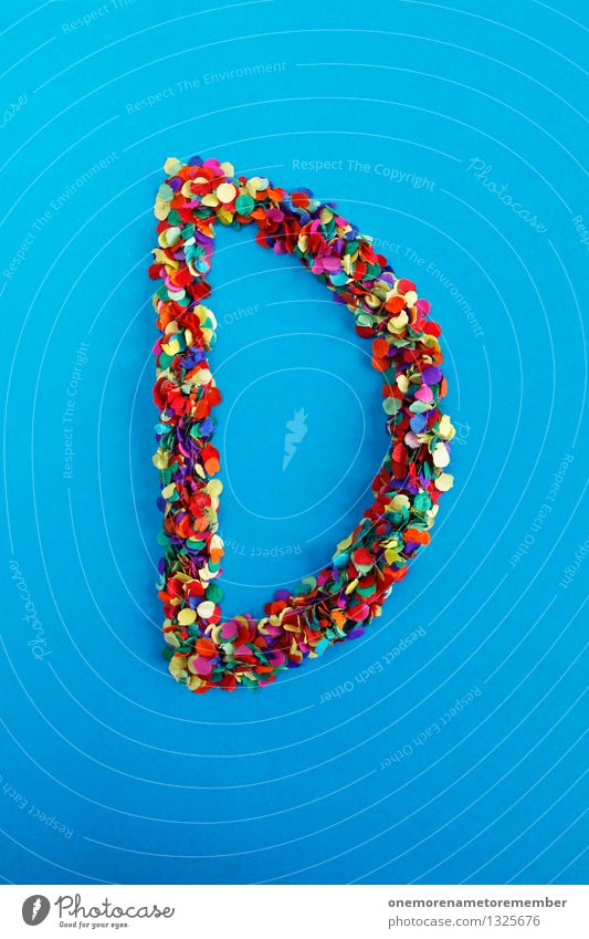 d Art Work of art Esthetic D Letters (alphabet) Typography Alphabetical Design Design studio Design museum Creativity Idea Multicoloured Confetti Colour photo